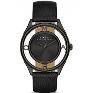 MARC BY MARC JACOBS ユニセックス 腕時計 クォーツ Tether 36 ブラック マークバイマークジェイコブス ティザー36 MBM1379|memozo