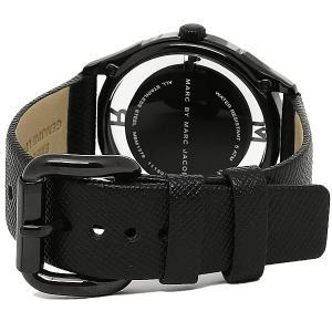 MARC BY MARC JACOBS ユニセックス 腕時計 クォーツ Tether 36 ブラック マークバイマークジェイコブス ティザー36 MBM1379|memozo|02