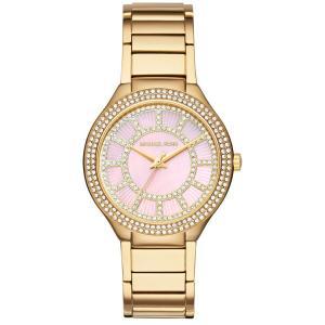 マイケルコース 腕時計 レディース クォーツ ケリー ゴールド×ピンク MK3396|memozo