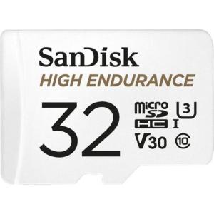 アウトレット マイクロSD 32GB サンディスク HIGH ENDURANCE microSDHC ドライブレコーダー アクションカメラ対応 SDSQQNR-032G 海外パッケージ品|memozo