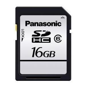 メール便可 Panasonic SDHC 16GB 20MB/s クラス6 RP-SDLC16GCK パナソニック 海外パッケージ品