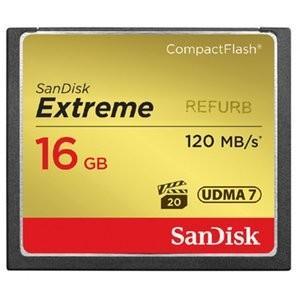 CFカード 16GB サンディスク Extreme コンパクトフラッシュ SDCFXS-016G リファービッシュ バルク品|memozo