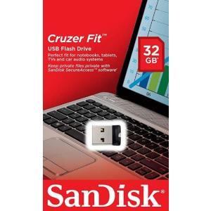 メール便可 SanDisk USB2.0 USBフラッシュメモリ 超小型 Cruzer Fit CZ33 32GB サンディスク SDCZ33-032G 海外パッケージ品