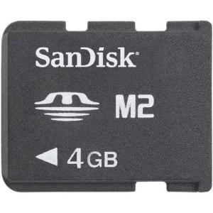メモリースティック 4GB M2 SDMSM2-004G サンディスク バルク品|memozo