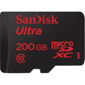 メール便可 SanDisk microSDXC Ultra UHS-I 90MB/s 200GB class10 SDSDQUAN-200G サンディスク バルク品