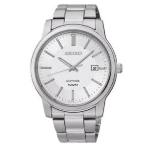 セイコー腕時計 メンズ ネオクラシック クォーツ シルバー SGEH01P1|memozo
