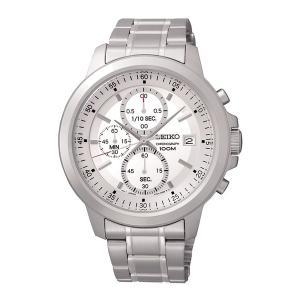 セイコー腕時計 メンズ クロノグラフ クォーツ シルバー SKS441P1|memozo