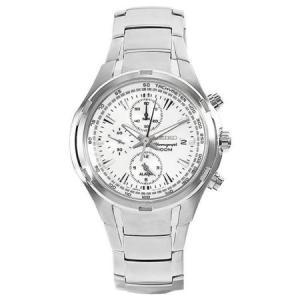 セイコー腕時計 メンズ クロノグラフ クォーツ シルバー SNAE39P1|memozo