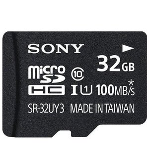 メール便可 SONY microSDHC 32GB 90MB/s UHS-I Class10 SR-32UY3A SDHC変換アダプター付属 ソニー 海外パッケージ品