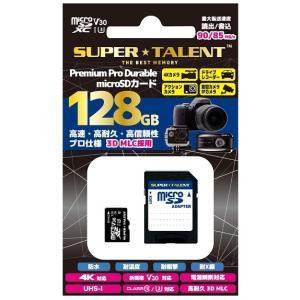 マイクロSD 128GB スーパータレント microSDXC ST28MSU3PD 国内パッケージ品|memozo
