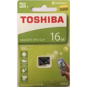 マイクロSD 16GB 東芝 microSDHC THN-M203K0160 海外パッケージ品|memozo