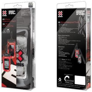 防水 スマホケース iPhoneSE iPhone5 5S対応 ネックストラップ付属 X-GAME XG-IW1102B|memozo