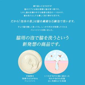 【送料無料】脇用 柿タンニン(カキタンニン)チャ茶エキス 配合 泥石鹸 泡沫の肌 メンズ レディース 加齢臭やワキガなどでデオドラント剤などを使っている方へ|men-s-nipple|09