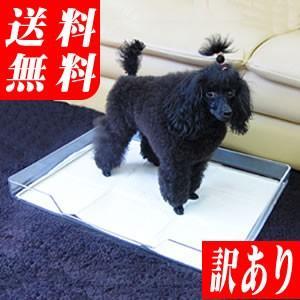 犬のトイレ クリアレット トレー&シーツストッパー セット(同梱不可)