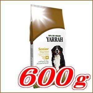 ヤラー オーガニック ドッグフード シニア 600g (正規品/お取り寄せ)