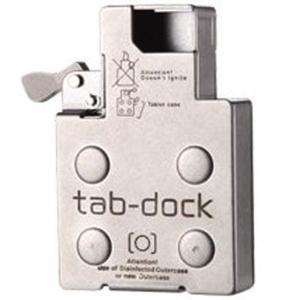 TAB-DOCK ZIPPOケース用ミントタブレットBOX 禁煙応援グッズ インサイドユニット (ギ...