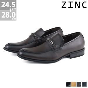 ビジネスシューズ 日本製天然皮革 ビット ローファー 3色展開 メンズ 靴 紳士 革靴 ジンク 対象商品2足の購入で8000円(税別)|mens-sanei