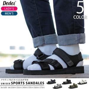 スポーツサンダル ストラップ Dedes デデス 靴 カジュアル メンズ レディース ユニセックス|mens-sanei
