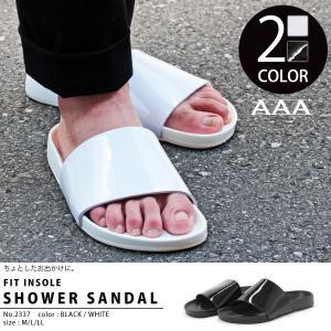 シャワーサンダル スポーツサンダル スポサン 夏 軽量 メンズ 靴 シューズ|mens-sanei