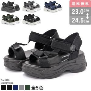 サンダル スポーツサンダル レディース スポサン 厚底 スニーカーサンダル 歩きやすい 対象商品2足の購入で6000円(税別) mens-sanei