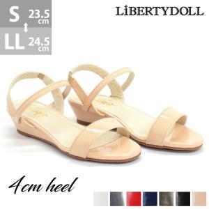 ストラップサンダル ローヒール シンプル レディース 婦人 靴 シューズ 対象商品2足の購入で3600円(税別)|mens-sanei