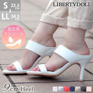 ヒールサンダル レディース 婦人 靴 シューズ 対象商品2足の購入で3600円(税別)|mens-sanei