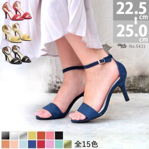 ストラップサンダル ピンヒール アンクルベルト 8cmヒール レディース 婦人 靴 シューズ 対象商品2足の購入で4000円(税別)|mens-sanei