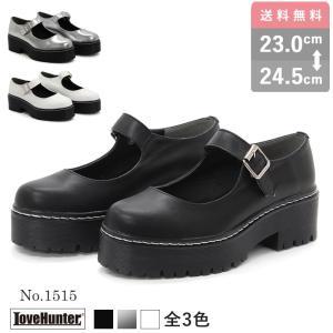 ストラップパンプス ローファー厚底 ロリータ 靴 コスプレ ゴシック 衣装 ゴスロリ mens-sanei