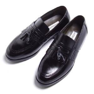 ビジネスシューズ シニア ブリンジ タッセル LF657BL ラスアンドフリス メンズ 革靴 紳士 靴