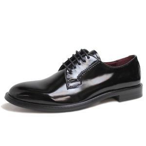 ビジネスシューズ 日本製 本革 外羽根 BLACK サラバンド メンズ 革靴 紳士 靴 撥水|mens-sanei