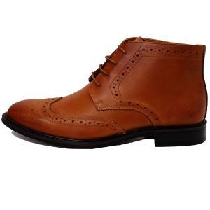 ビジネスシューズ 日本製 本革 チャッカブーツ LIGHT BROWN サラバンド メンズ 革靴 紳士 靴|mens-sanei