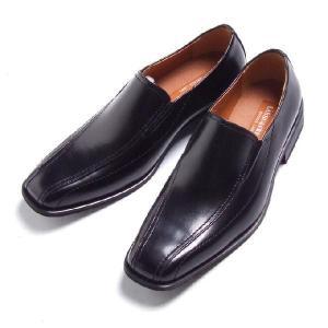ビジネスシューズ スリッポン BLACK ラスアンドフリス メンズ 革靴 紳士 靴 2足6000円セット対象商品|mens-sanei