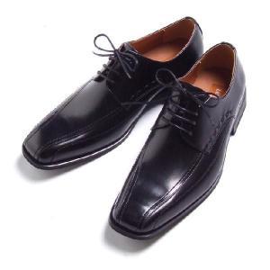 ビジネスシューズ 外羽根 BLACK ラスアンドフリス メンズ 革靴 紳士 靴 2足6000円セット対象商品