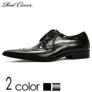 ドレスシューズ 本革 外羽根  レッドカバー  2色展開 メンズ 革靴 靴 ポインテッドトゥ シューズ ブラック エナメル BLACK BLACKENAMEL|mens-sanei