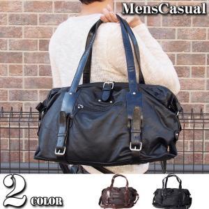 ボストンバッグ メンズ トートバッグ ショルダーバッグ|menscasual