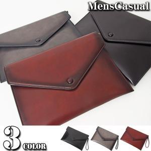 クラッチバッグ メンズ バッグ 無地 シンプル セカンドバッグ ショルダーバッグ 2WAY フェイクレザー ビジネス カバン かばん 鞄 A4サイズ menscasual