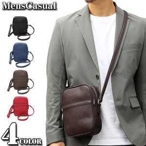 ボディバッグ メンズ ショルダーバッグ ミニショルダーバッグ ウエストバッグ ウエストポーチ 斜めがけ ポシェット かばん カバン 鞄|menscasual
