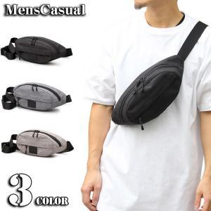 ボディバッグ メンズ ヒップバッグ ウエストバッグ ウエストポーチ ボディーバッグ ミニショルダーバッグ 斜めがけ かばん カバン 鞄|menscasual