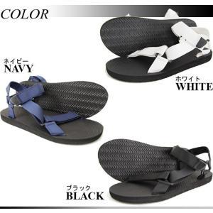 サンダル スポーツサンダル メンズ スポサン ストラップサンダル 黒 白 カーキ ネイビー カモ 迷彩|mensfashion|05