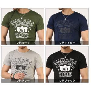Tシャツ メンズ 吸汗速乾 ドライメッシュ素材 アメカジ Tシャツ カレッジ プリント TEE おしゃれ|mensfashion|17