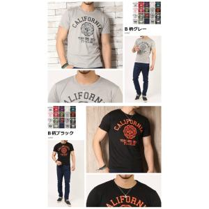 Tシャツ メンズ 吸汗速乾 ドライメッシュ素材 アメカジ Tシャツ カレッジ プリント TEE おしゃれ|mensfashion|09