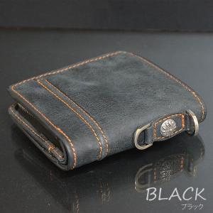 本革レザー二つ折り財布/メンズ/二つ折り/財布サイフさいふ/メンズ/財布|mensfashion|02