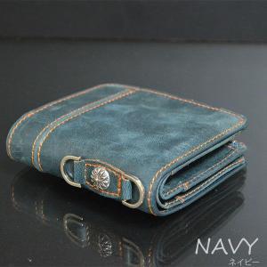 本革レザー二つ折り財布/メンズ/二つ折り/財布サイフさいふ/メンズ/財布|mensfashion|04