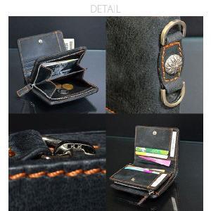 本革レザー二つ折り財布/メンズ/二つ折り/財布サイフさいふ/メンズ/財布|mensfashion|05
