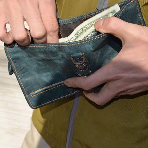 本革レザー二つ折り財布/メンズ/二つ折り/財布サイフさいふ/メンズ/財布|mensfashion|06