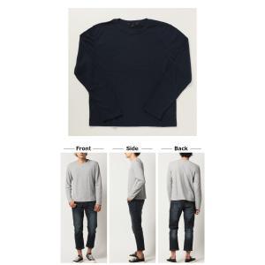 ロンT 7分袖 人気 4万枚完売 サーマル ロングT ワッフル Tシャツ メンズ カットソー mensfashion 03