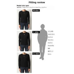 ロンT 7分袖 人気 4万枚完売 サーマル ロングT ワッフル Tシャツ メンズ カットソー mensfashion 05