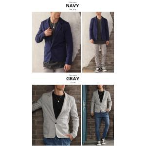テーラードジャケット アウター メンズ/メンズファッション/ポンチ スウェット 長袖ジャケット|mensfashion|03
