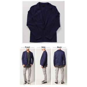 テーラードジャケット アウター メンズ/メンズファッション/ポンチ スウェット 長袖ジャケット|mensfashion|05