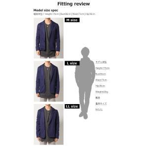 テーラードジャケット アウター メンズ/メンズファッション/ポンチ スウェット 長袖ジャケット|mensfashion|06